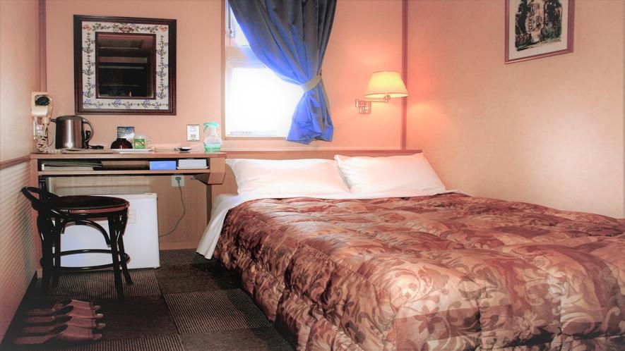 ■全てのシングルルーム(セミダブルベッド)には2名様利用の予備寝具を標準装備■