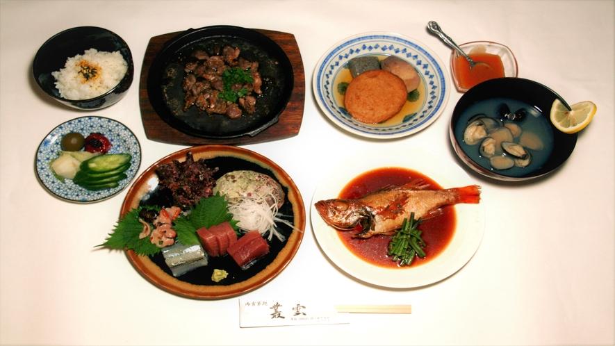 【現金特価】専門店むらくも提携■C:特選のどぐろ&旬の味覚(料理¥3500!)■