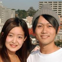 国宝松江城をバックにこんな素敵な想い出づくりは当館ならではのプレゼント詳しくはフロントにお尋ね下さい