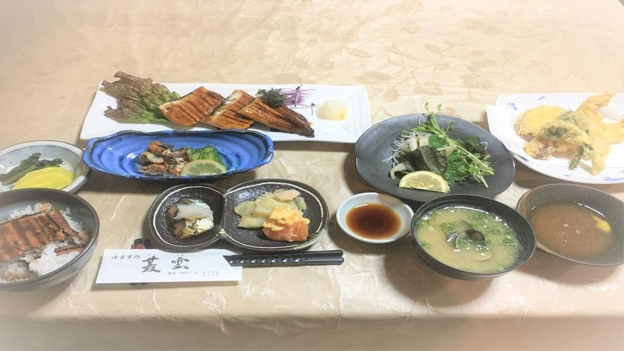 【現金特価】専門店むらくも提携■A:特選うなぎづくしプラン(料理¥4500!)■