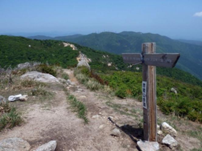 赤坂山歩道