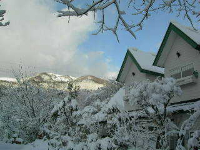積雪時の横からの外観