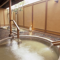 女性露天風呂「琴の湯」