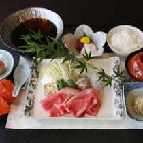 【ご夕食オプション】近江牛すき焼き御膳≪朝食付きプラン用≫