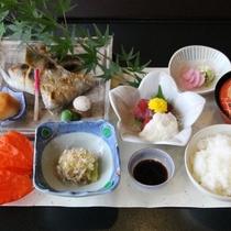 【ご夕食オプション】焼き魚御膳≪朝食付きプラン用≫