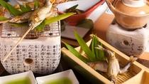別注料理:鮎の塩焼き(一例)
