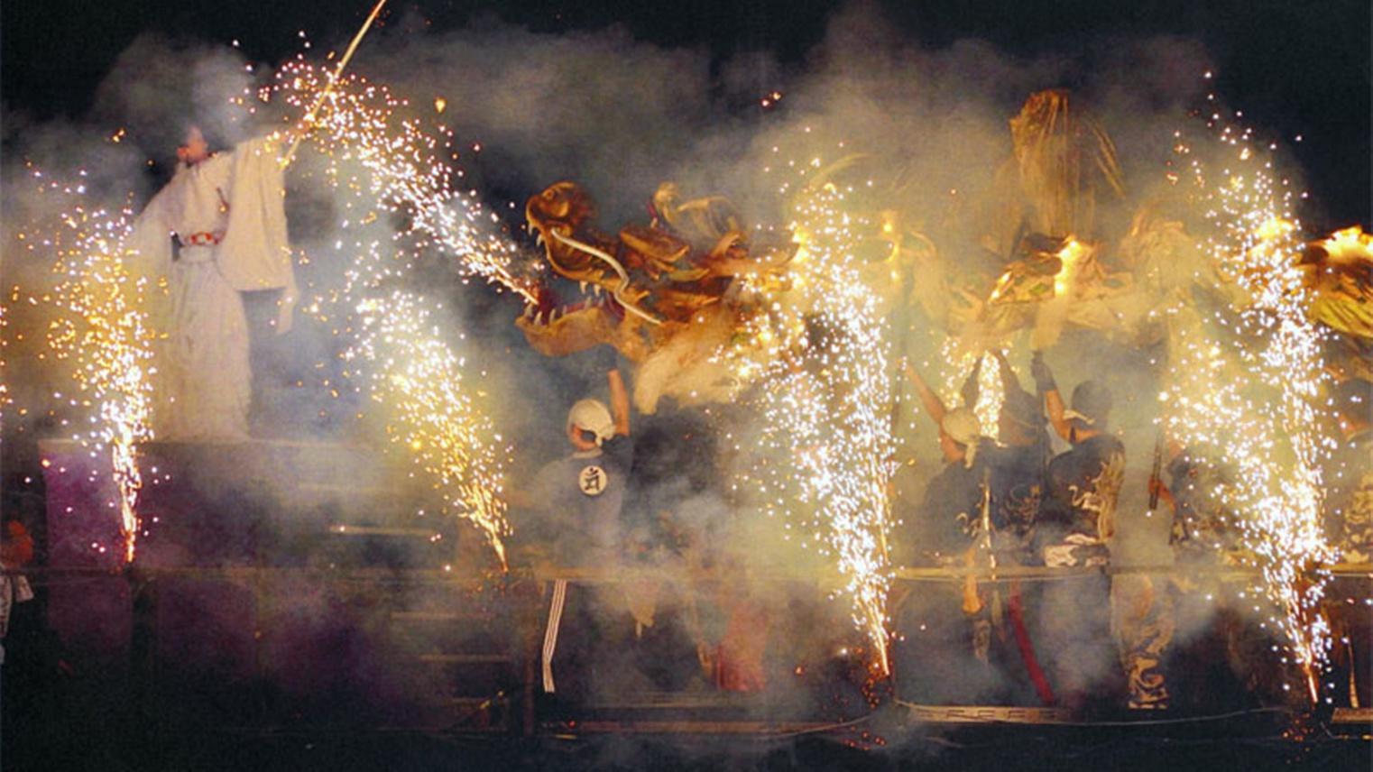 *【文殊堂出船祭】毎年7月に開催される智恩寺文殊堂の伝統行事。当館から徒歩2分