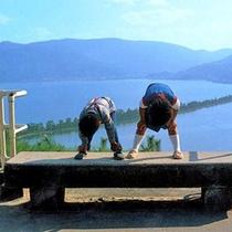 【天橋立】名物の股のぞきで天に架かる浮き橋をみよう!