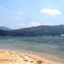【天橋立海岸】8000本の松並木と白い砂、青い海!
