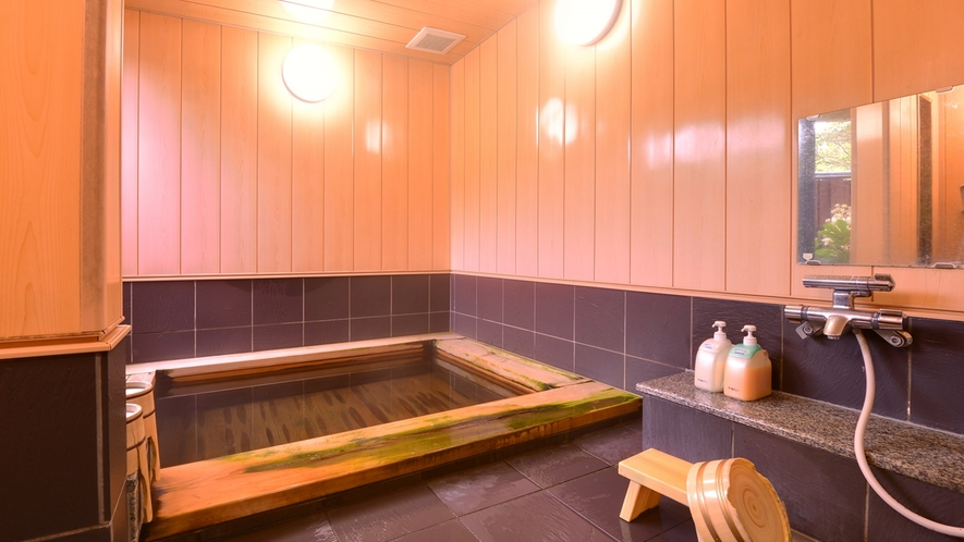*【天橋立温泉】こじんまりとしていますが、檜の香りをお楽しみいただきながら、美肌の湯をご堪能下さい