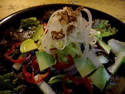 食事魚サラダ