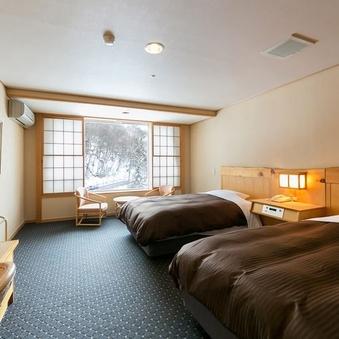 【禁煙】バリアフリー洋室/34平米
