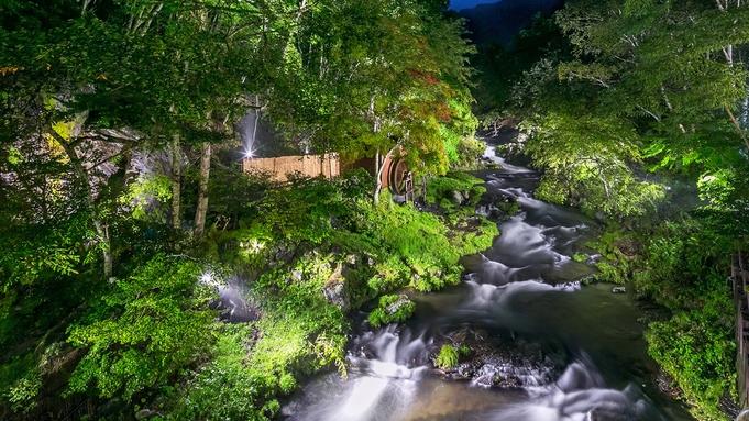 【特日/基本プラン】旬の味覚と上質な温泉を滝の湯で!1泊2食付きビュッフェプラン★