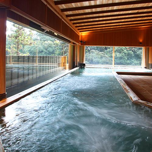 【2F こもれびの湯】 大浴場