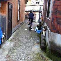 カッコいいクロスバイクで野沢温泉を探検!