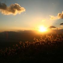 日本の夕陽百選「サンセットポイント」の夕陽★