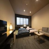 【和洋室ツインルーム】フランスベッド社製ベッド