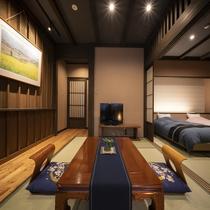 【特別室】信濃邸[桜] 露天付和室