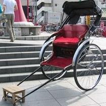 ◆浅草観光といえばやっぱり『人力車』♪