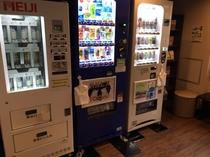 自動販売機 10F【アルコール類・ソフトドリンク・牛乳】