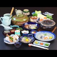 ≪日帰り≫●夜●人気郷土料理「魚醤焼き」付!ふぐ竹