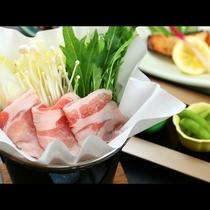 *【恋美豚】を使用した贅沢な豚しゃぶ(アップ)