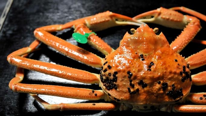 【間人蟹・冬人気No.1】1kg超えの上質な間人ガニを1杯◆使用した間人ガニフルコース<花つばき>