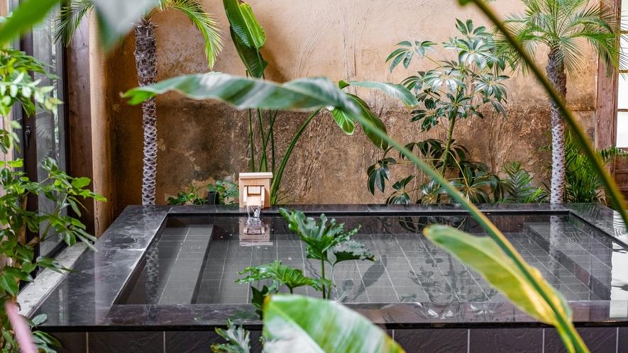 【昭恋の湯】アジアンテイストのデザインを愉しみながらお寛ぎくださいませ。