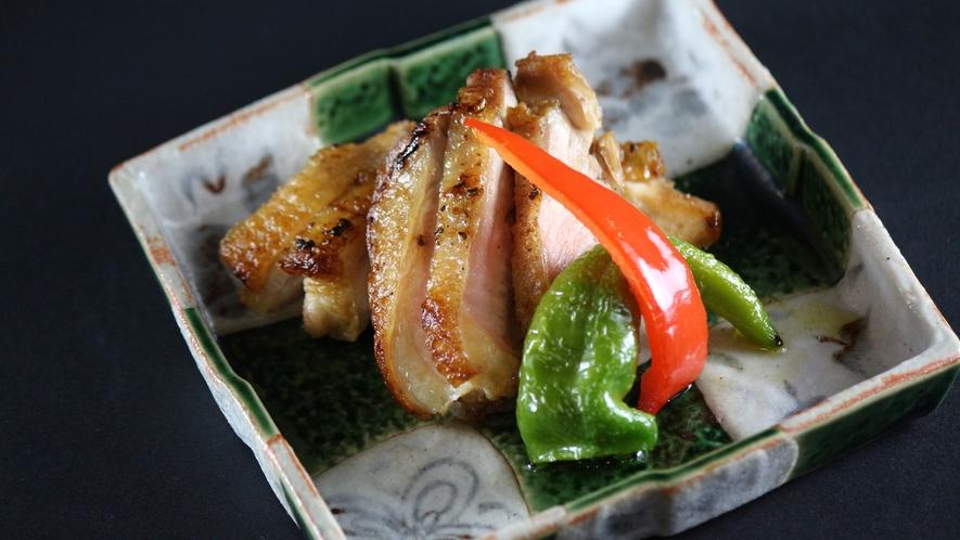 【地鶏】最高級ブランド地鶏の丹波黒どりの塩焼き。