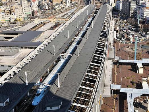 【お部屋の窓から新幹線】新幹線ビュープラン(朝食付)