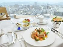 最上階 フランス料理【プリドール】のランチ(イメージ)