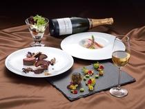 最上階 フランス料理【プリドール】のディナー(イメージ)