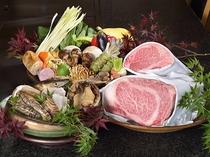 最上階 鉄板焼【備彩】の食材