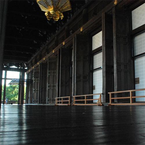 【西本願寺】京都が誇る世界遺産「西本願寺」もすぐそば♪