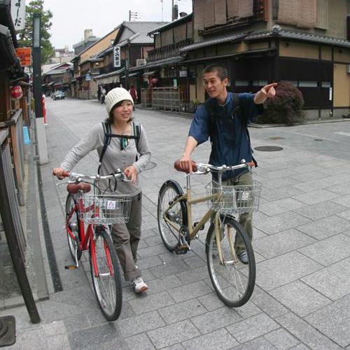 【レンタサイクル】心地よい季節レンタサイクルで京都を巡ろう♪