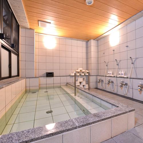 *【浴場】クチコミ★★★★部屋や地下浴場の清潔度はよく、気持ちよく過ごすことができました。