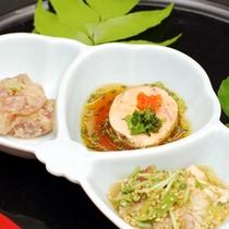 *ご夕食/前菜(一例)