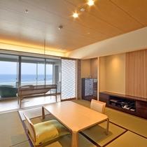 露天風呂付客室 浜水晶和室