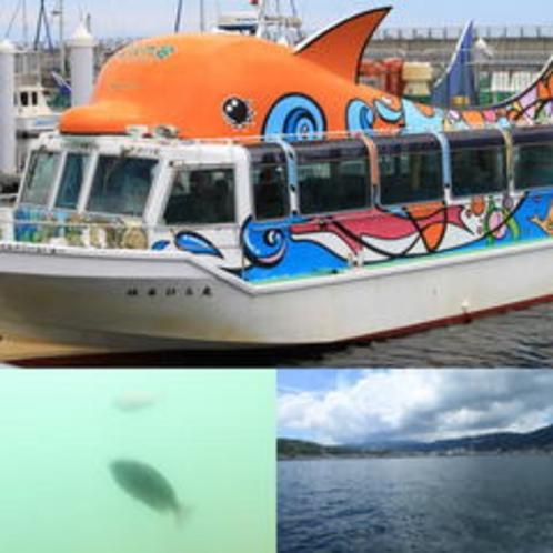 はるひら丸遊覧船いるか号◆絶景・名所巡りの伊東湾40分クルージング半額特典あり!