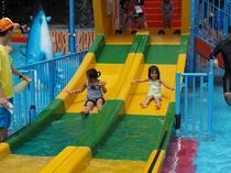 姫路セントラルパークのお子様用プール「キッズアクエリア」