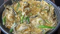 【一品料理】牡蠣の柳川風(玉子とじ)