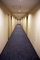 6階廊下の改装が完了しました!カーペットと壁紙が新しくなりました!(2020年4月)