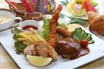 ☆お子様ランチ☆ 幼児~小学校低学年のお子様むけのお食事です。詳しい内容は写真説明をご覧ください。