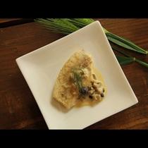 カレイのムニエル(夕食メニューの一例です)