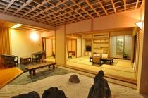 特別室一例 岩風呂「平安」