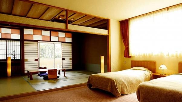【朝夕共にお部屋食】ベッドルーム付き和洋室【バス・トイレ付】