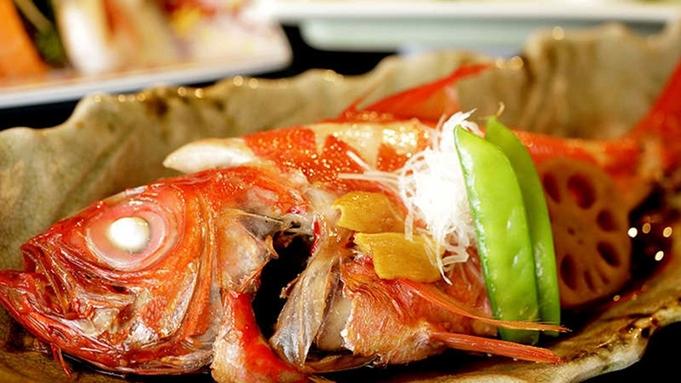 ◆夏休みは海の幸満喫◆伊勢エビ入り「駿河湾大皿盛」+「金目鯛の姿煮」*魚介の宝庫駿河湾がてんこ盛り