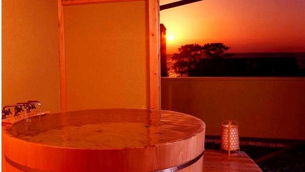 【朝夕共にお部屋食】◆温泉かけ流し露天風呂付き客室◆