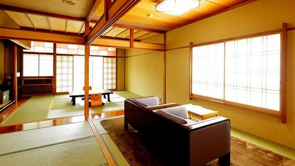 【朝夕共にお部屋食】次の間付き和室【バス・トイレ付】