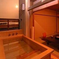 【客室】露天付客室一例